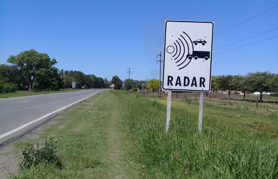 Cartel-radar-ruta-6-Norte-e1614850876384